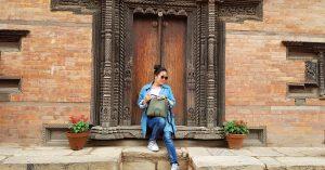 Bhaktapur Wooden Door